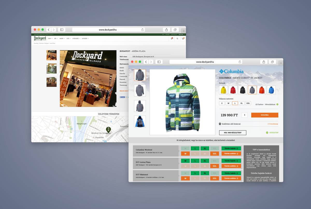 Dockyard webshop