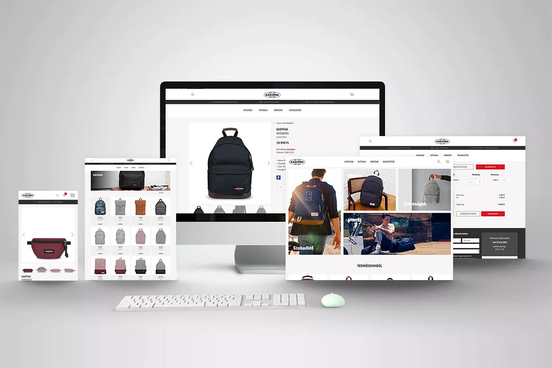 Eastpak webshop
