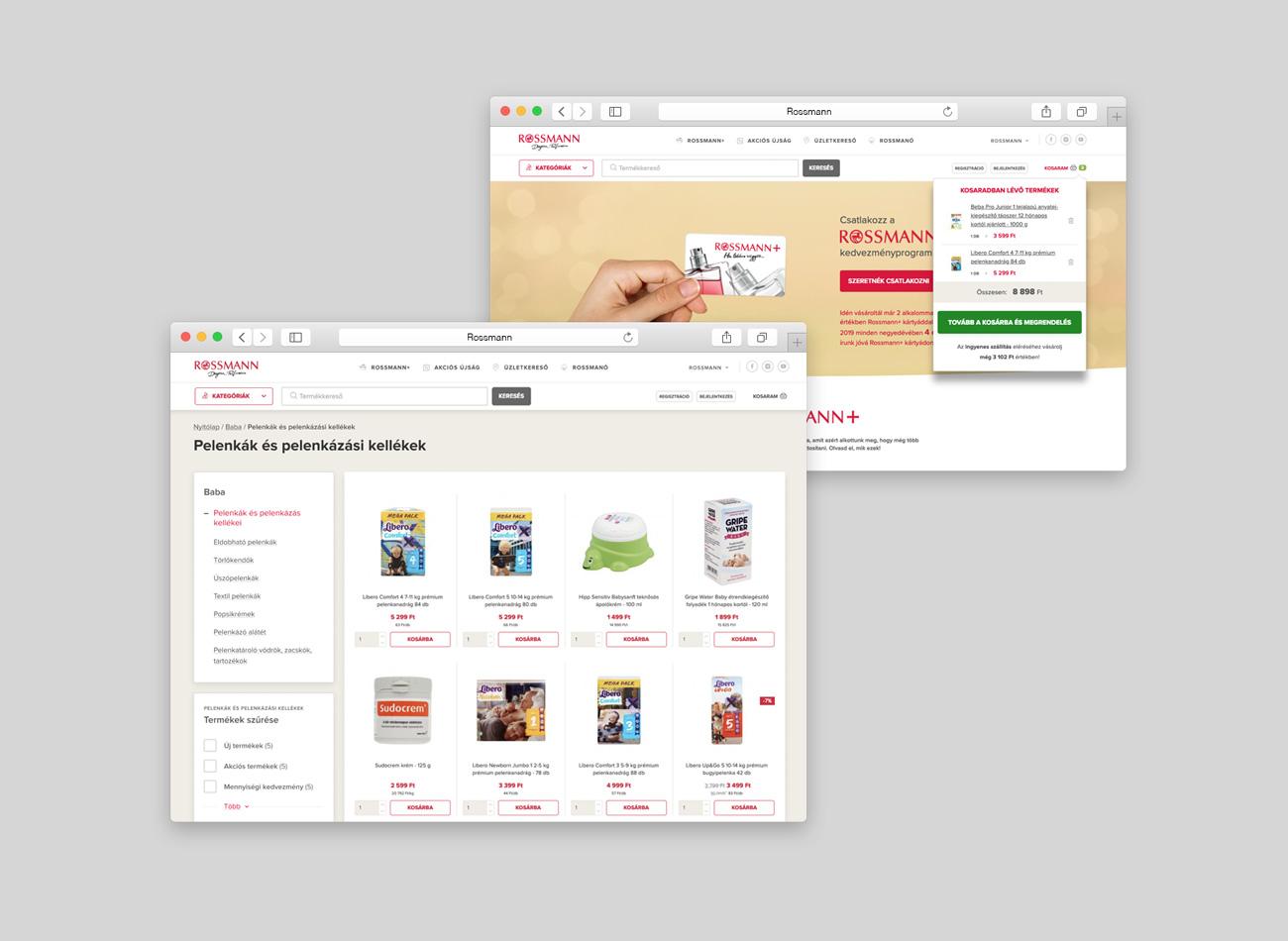 Rossmann webshop
