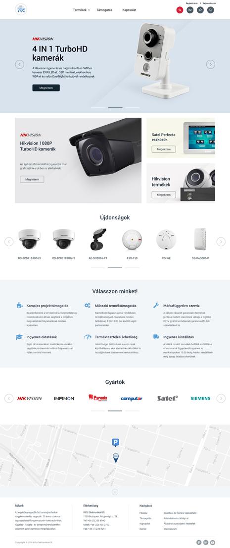 RIEL webshop