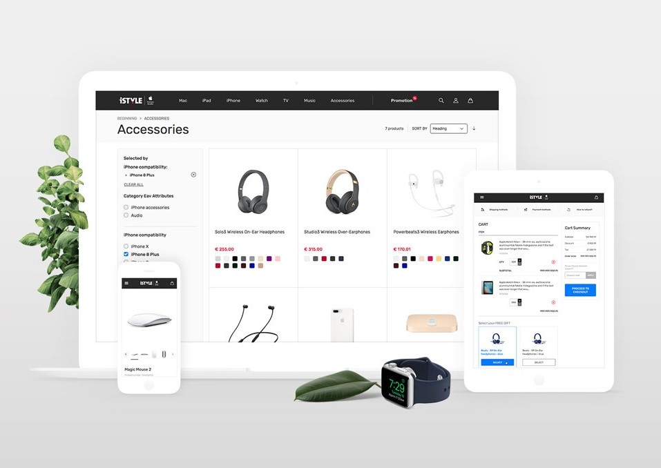 iStyle webshop
