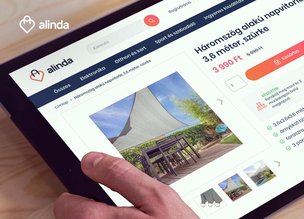 Innovative webshops for Alinda, the leading consumer retailer